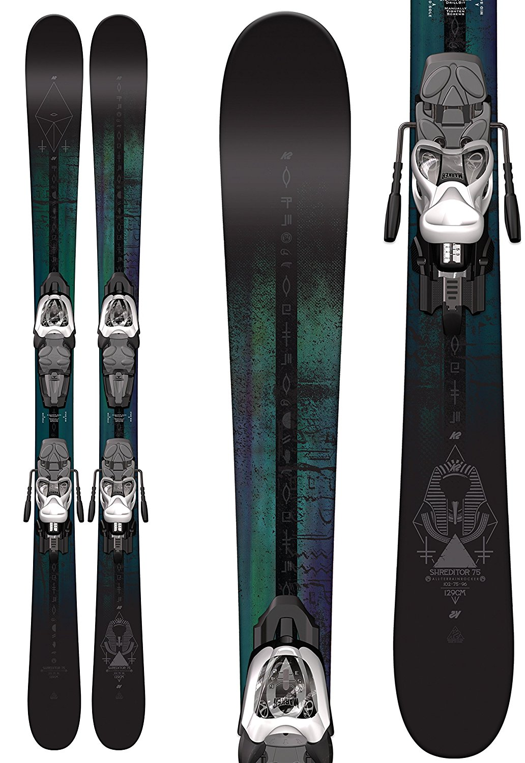 K2 Shreditor 75 Junior Ski