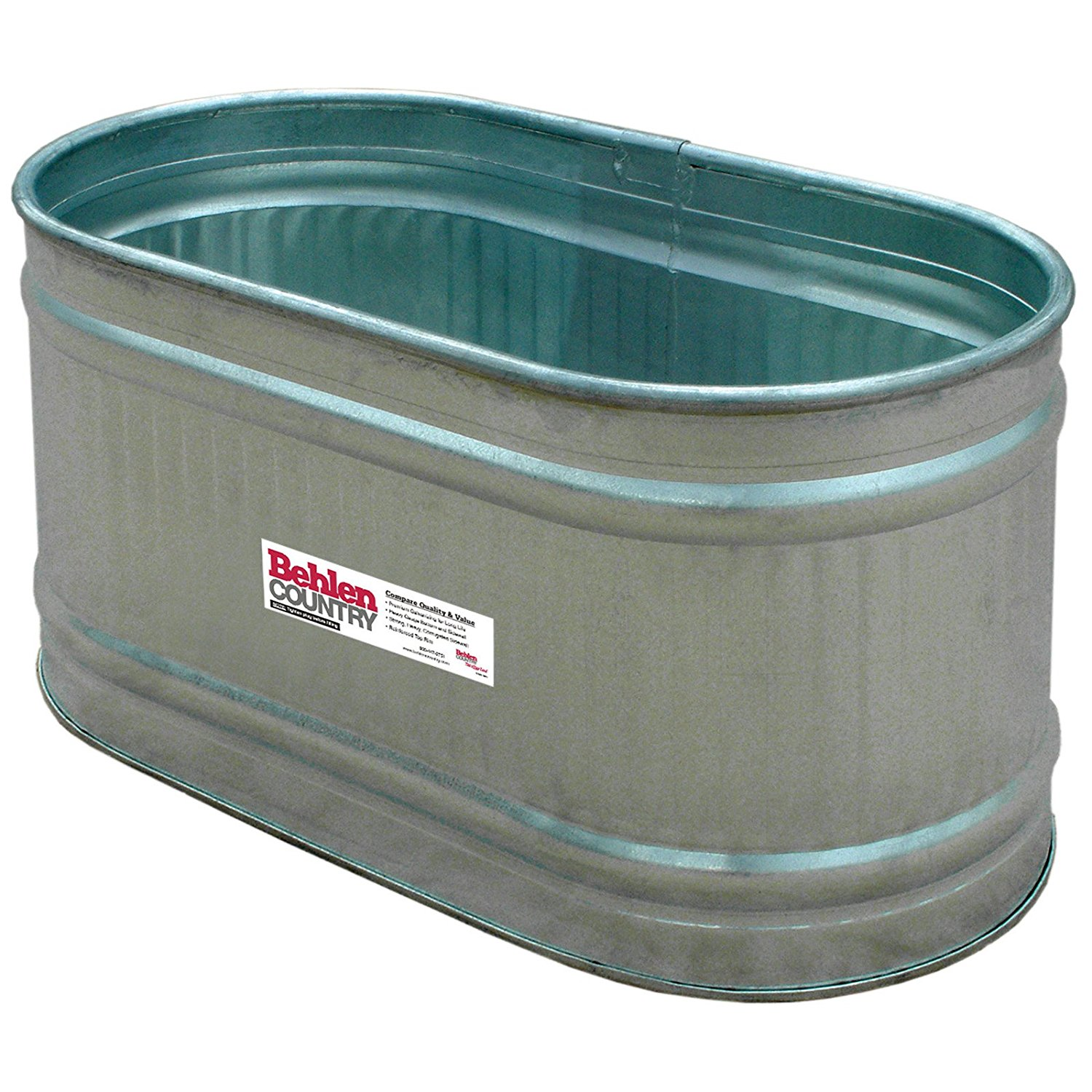 Behlen Galvanized Round End Stock Tank