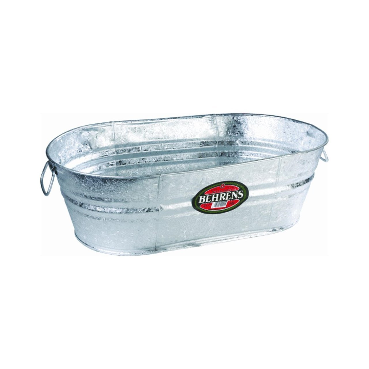 Behrens Oval Hot Dipped Steel Tub