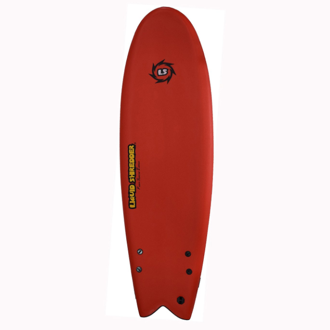 Liquid Shredder Fish Foam Surfboard