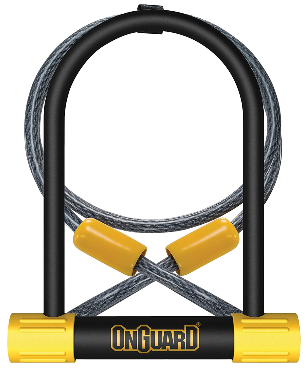 OnGuard Bulldog DT U-Lock with 4-Foot Cinch Loop Cable