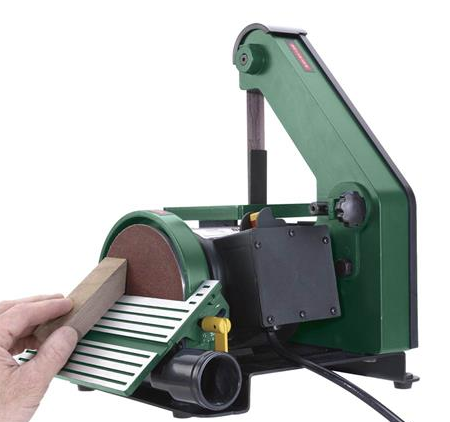 Grizzly 1 X 30-Inch Belt and 5-Inch Disc Sander