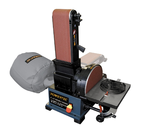 POWERTEC Wood Belt Disc Sander