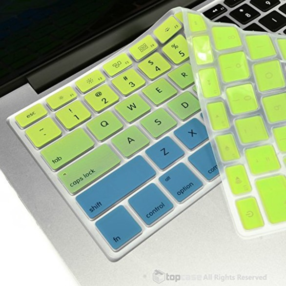 Top Case Faded MacBook Keyboard Cover