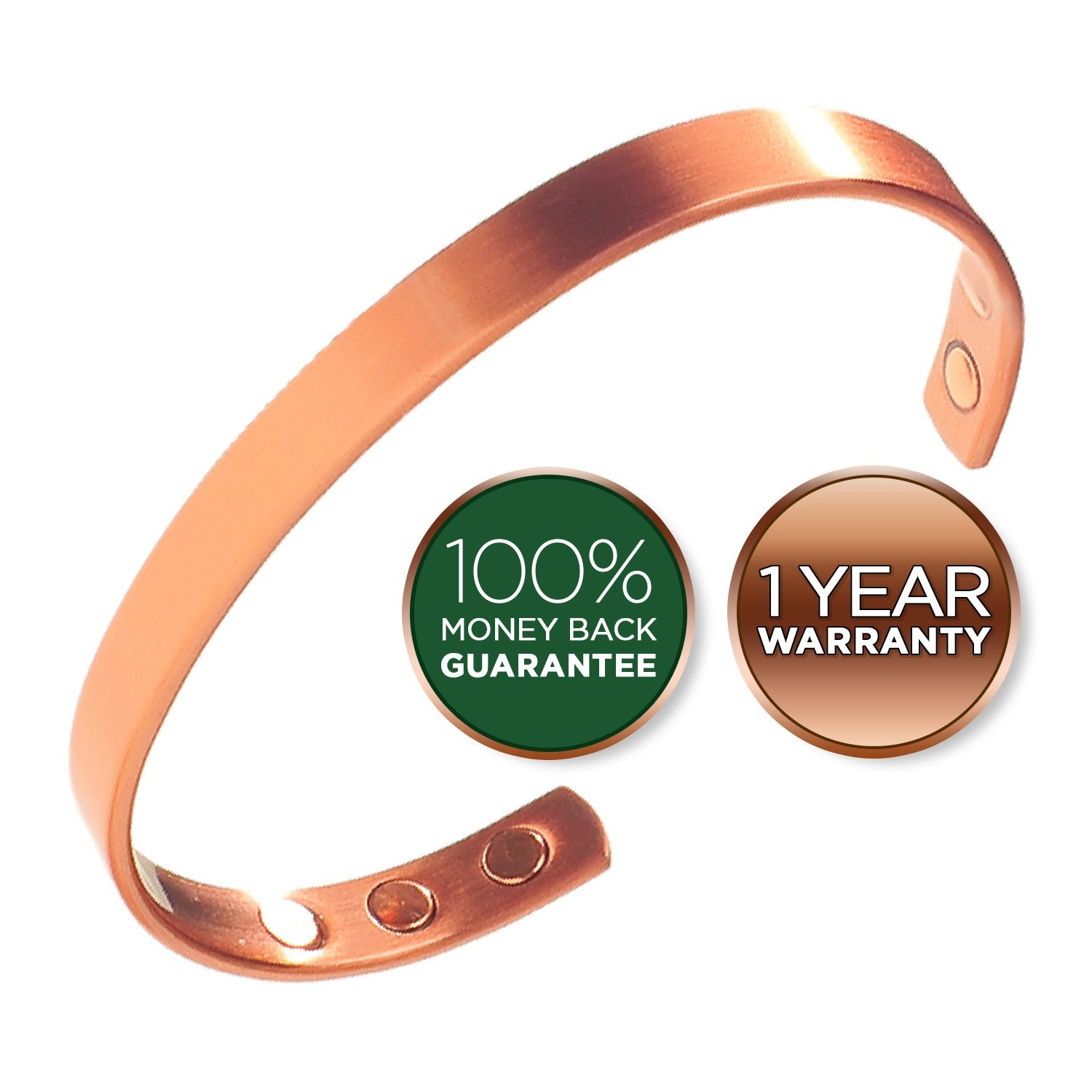 Earth Therapy Pure Copper Magnetic Bracelet
