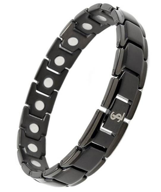 Smarter Lifestyle Titanium Magnetic Therapy Bracelet