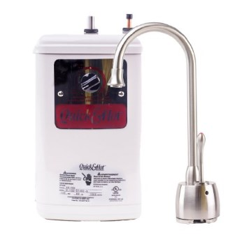 Waste King H711-U-SN Quick & Hot Water Dispenser Faucet & Tank - Satin Nickel