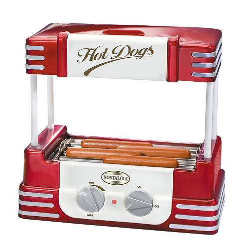 Nostalgia '50S-Style Hot Dog Roller Cooker