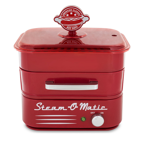 Smart Planet Steam-O-Matic Hot Dog Steamer