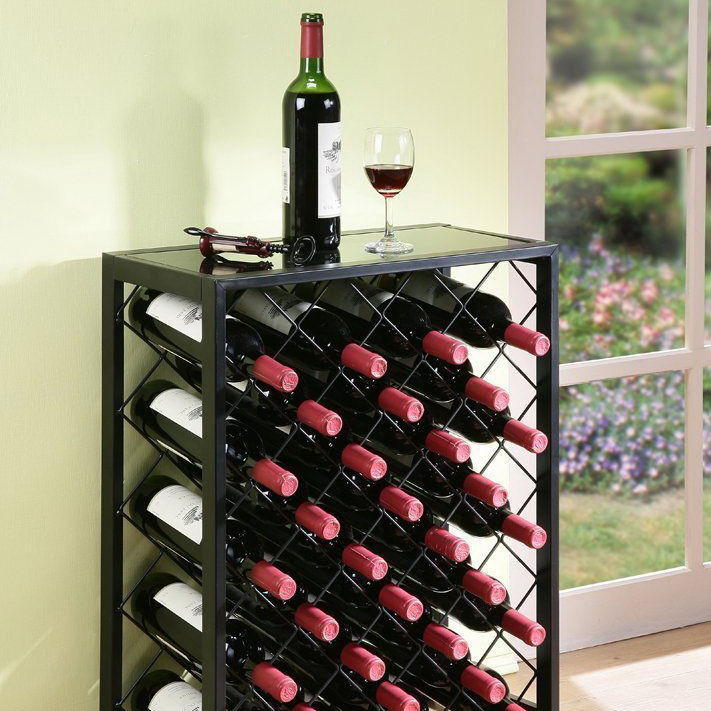 Mango Steam 32 Bottle Wine Rack