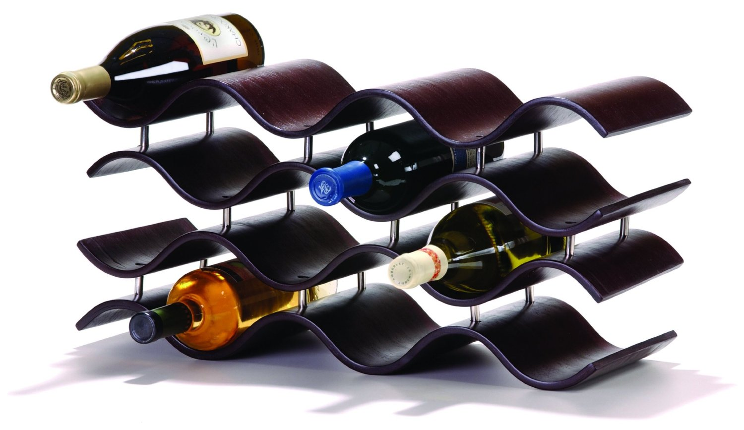Oenophilia Bali 12-Bottle Wine Rack