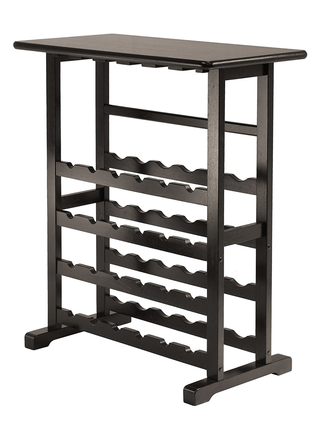 Winsome Wood Vinny 24-Bottle Wine Rack
