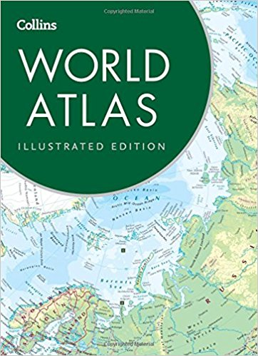 Collins Maps World Atlas: Illustrated Edition