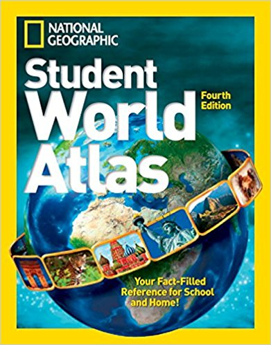 National Geographic Kids Student World Atlas