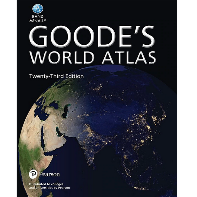 Rand McNally Goode's World Atlas (23rd Edition) — Hardcover or Paperback Available