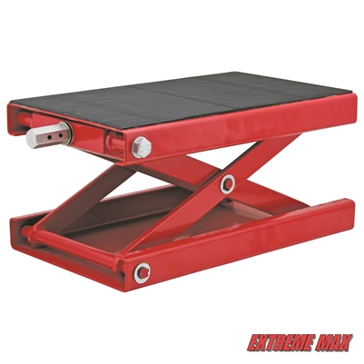 Extreme Max Wide Motorcycle Scissor Jack