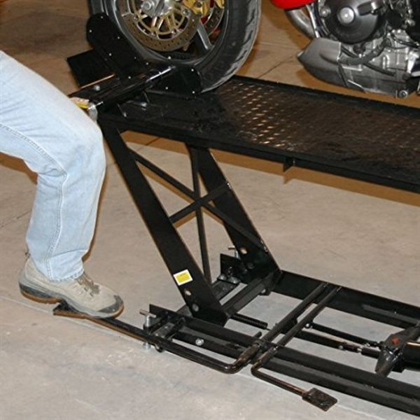 Rage Powersports Black Widow Motorcycle Lift