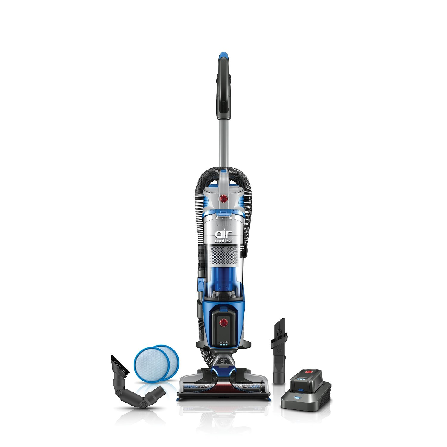 Hoover Air Cordless Lift Bagless Upright Cordless Vacuum Removable Canister
