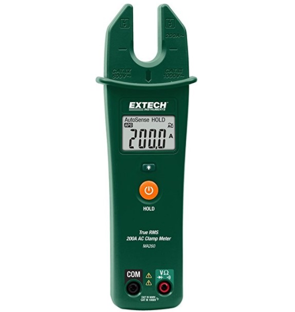 Extech True RMS Clamp Meter
