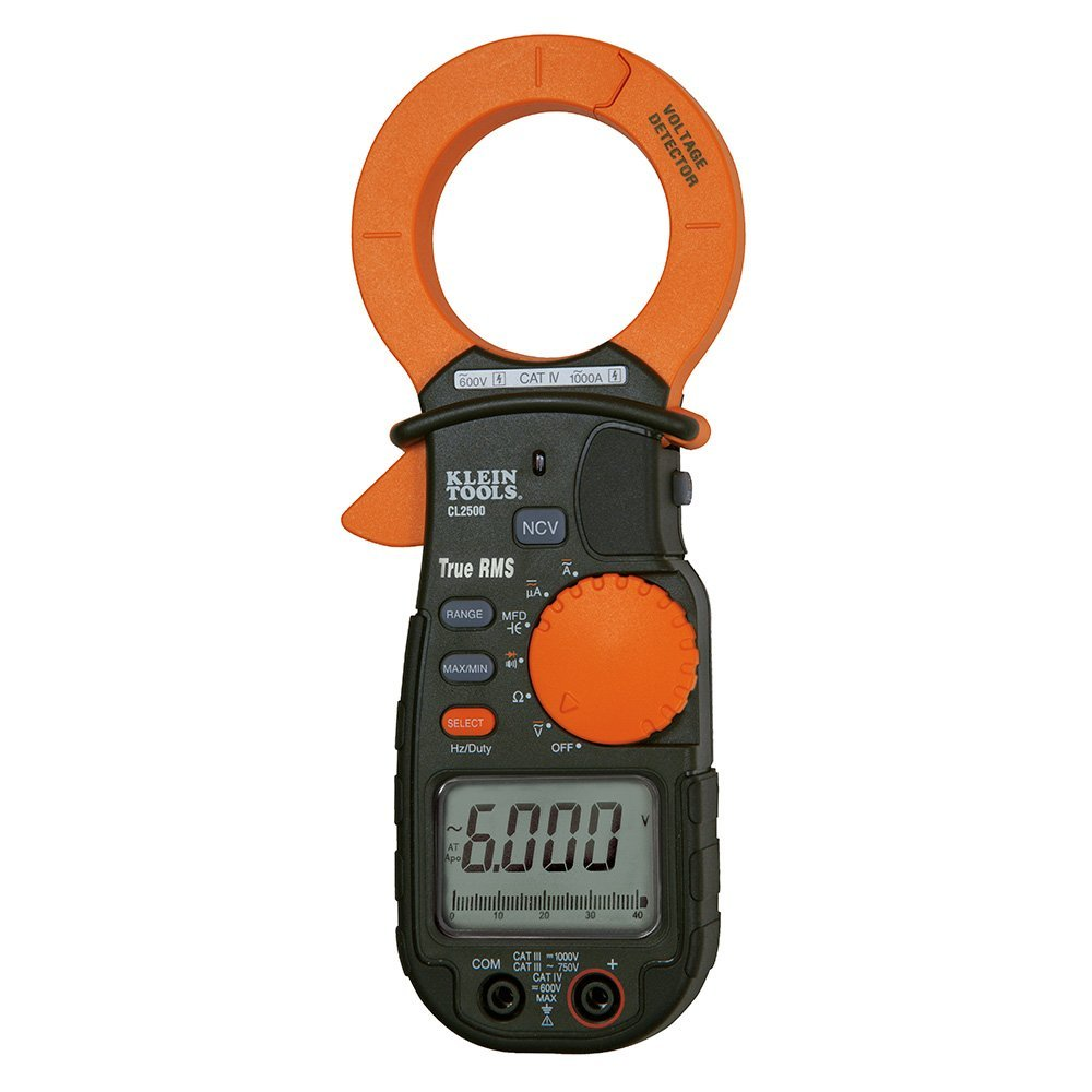 Klein Tools AC/DC Clamp Meter