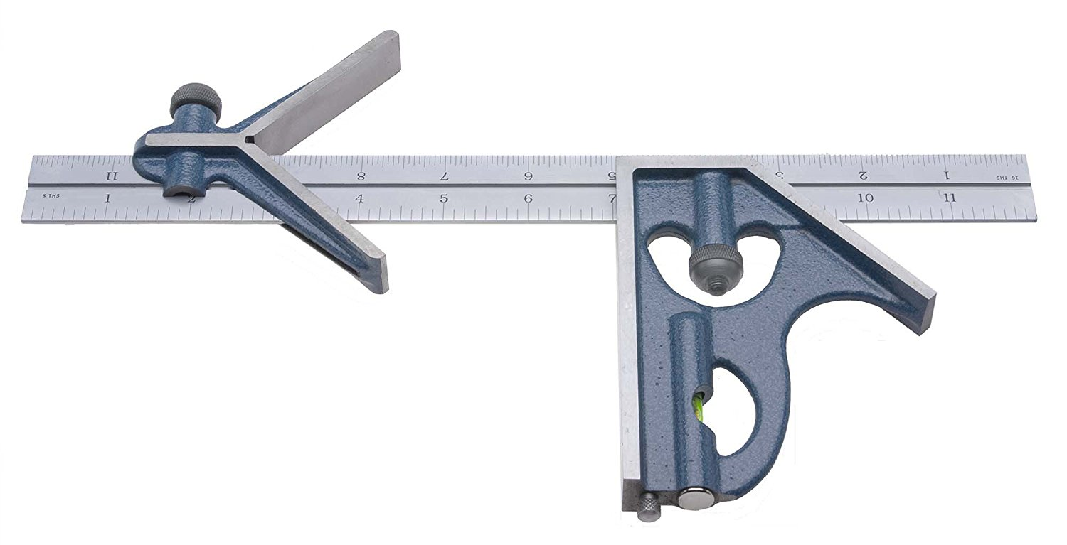PEC Tools 3 Piece Combination Square