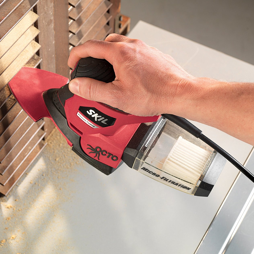 Skil Octo Detail Sander with PC