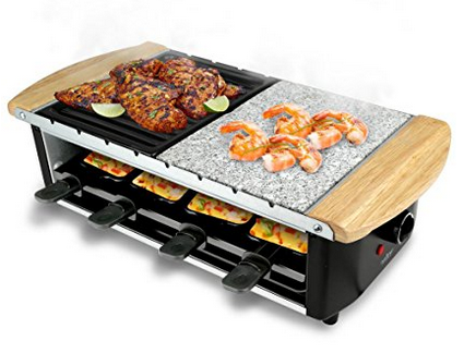 NutriChef Two-Tier Party Raclette Grill
