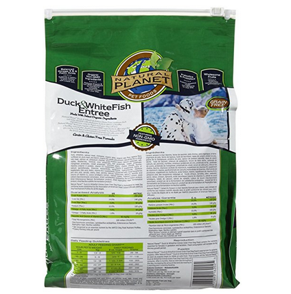 Natural Planet Grain Free Dry Organic Dog Food