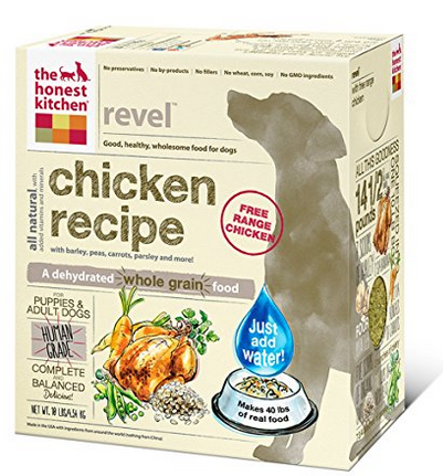 The Honest Kitchen Whole Grain Chicken Dog Food