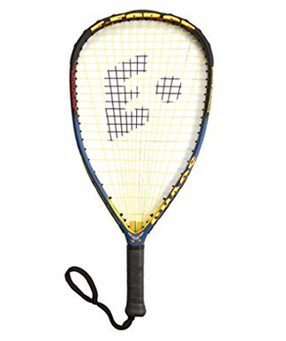 E-Force Chaos Racquetball Racquet with Monster String Holes