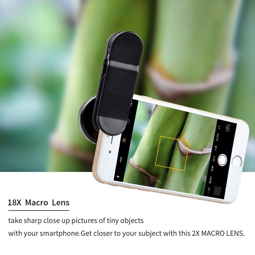 Akinger Clip-on Macro Camera Lens