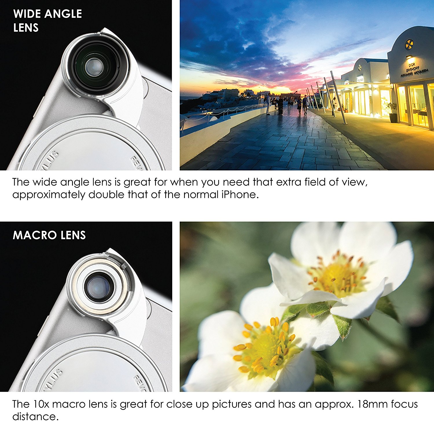 Ztylus 4 in 1 Lens Camera Kit