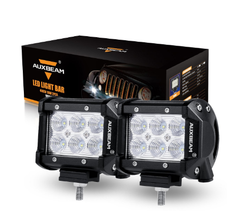 Auxbeam LED Light Bars and Spots