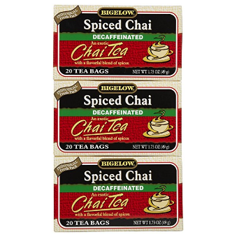 Bigelow Tea Spiced Chai Decaf Tea