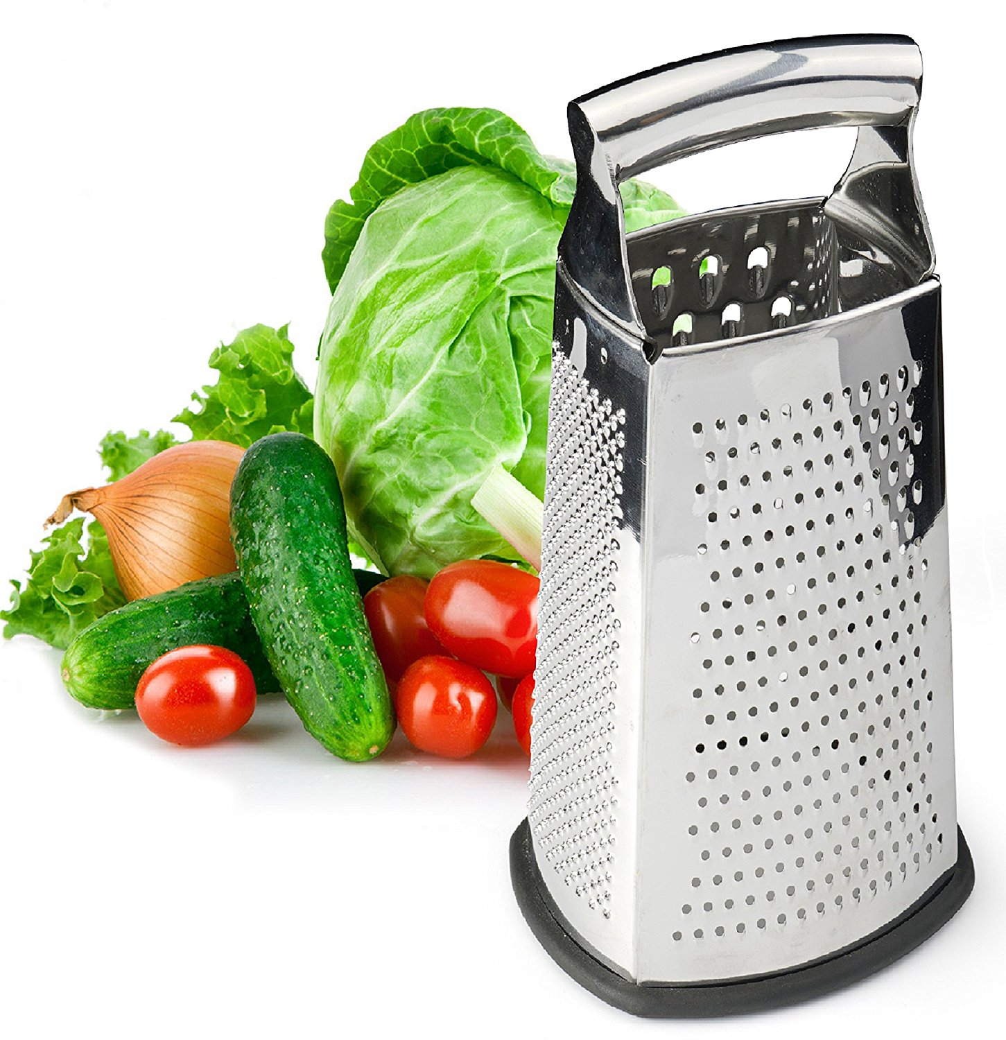Spring Chef 4-Sided Box Grater