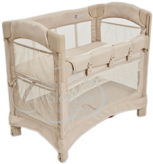 Arm's Reach Concepts Mini Ezee 2-in-1 Bedside Bassinet – Available in 2 Colors
