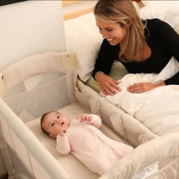 Arm's Reach Mini Ezee Co-Sleeper Bedside Bassinet
