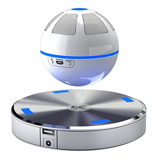 Ice Levitating Wireless Floating Bluetooth with Speaker Built-in NFC Function