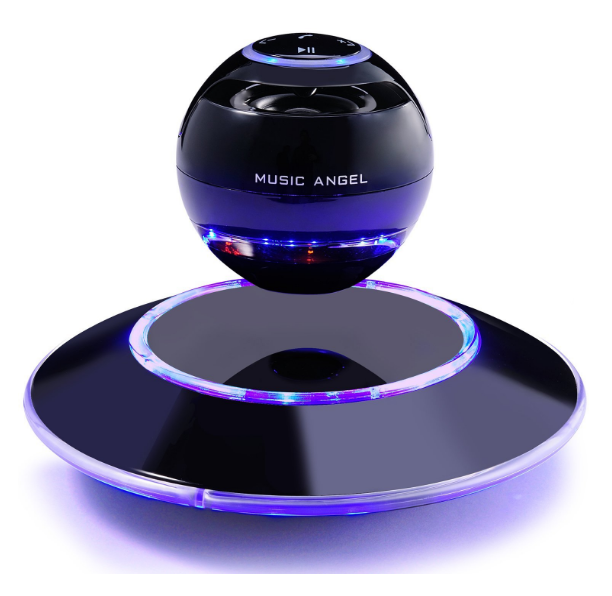 Music Angel Levitating Portable Wireless Bluetooth Speakers