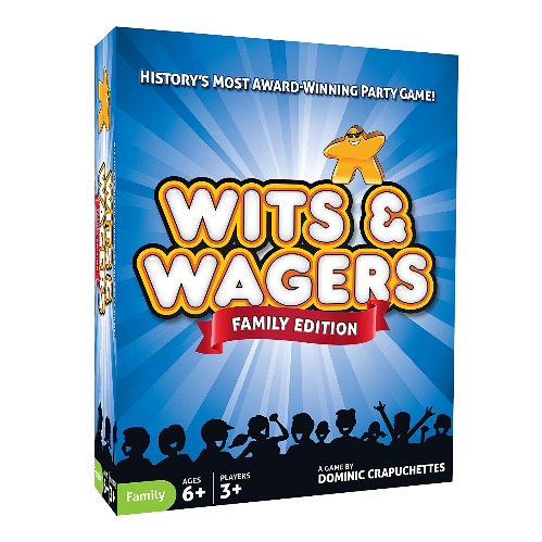 North Star Games Wits and Wagers Trivia Game