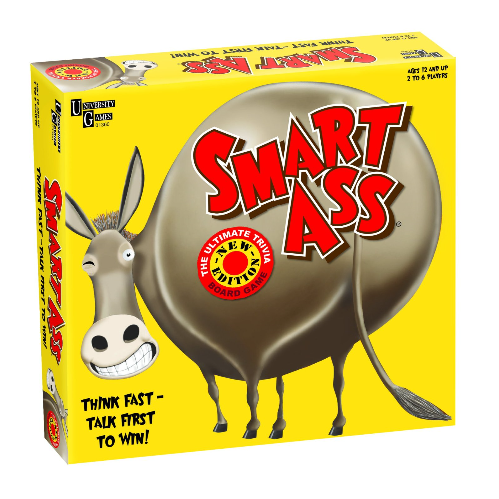 University Games Smart Ass Trivia Game - Available in 3 Different Packs