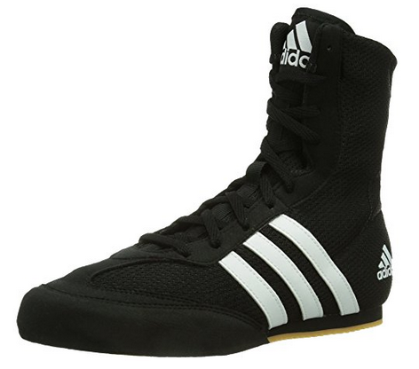 Adidas Box Hog 2 Boxing Shoes with Mesh Upper, Cushioned Midsole, Rubber Outsole - Men's and Women's Sizes