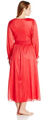 Shadowline Long Lace Bodice Robe