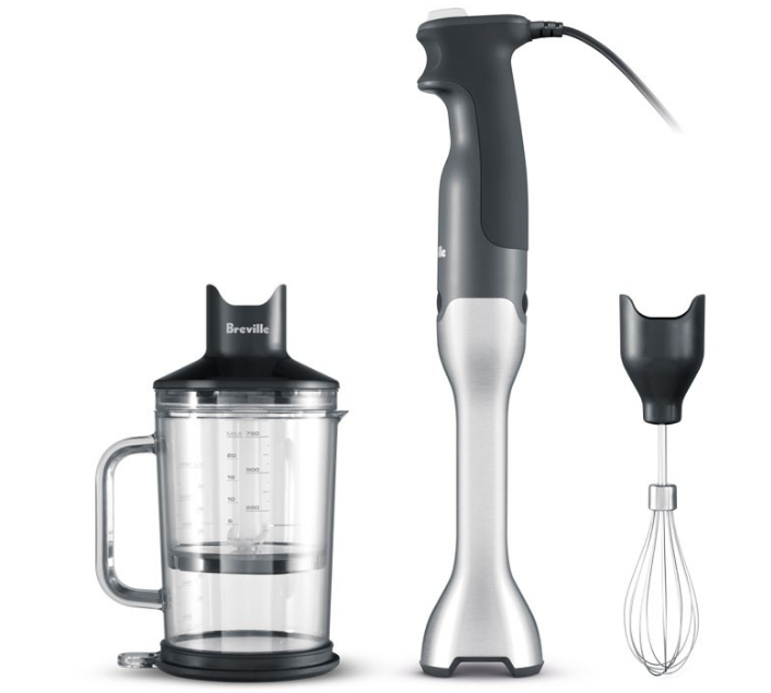 Breville Control Grip Immersion Hand Blender with Variable Speeds