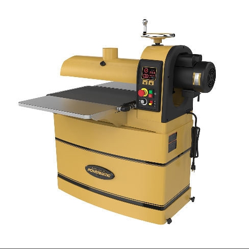 Powermatic 1-3/4 HP Drum Sander with Integrated LED Control Panel