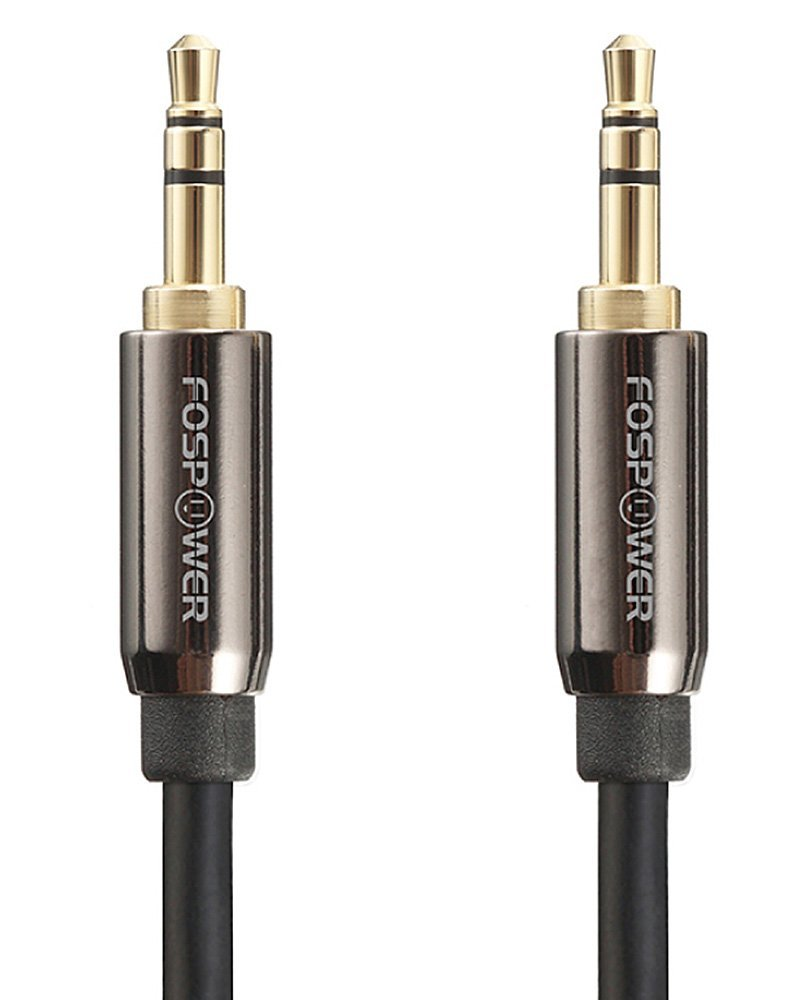 FosPower Stereo Audio Auxiliary Cable