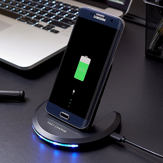 Qi-infinity 2-Coils Fast Wireless Charger