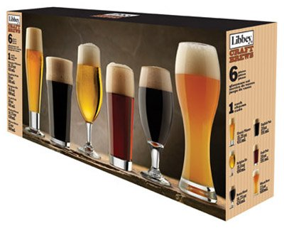 Libbey Craft Brews Beer Glass Set