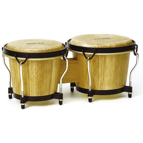 Tycoon Percussion 6 Inch & 7 Inch Ritmo Bongo Drum Set – Available in 2 Styles