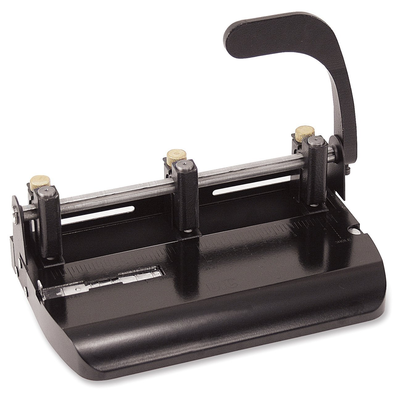 Officemate Adjustable 2 and 3 Hole Punch